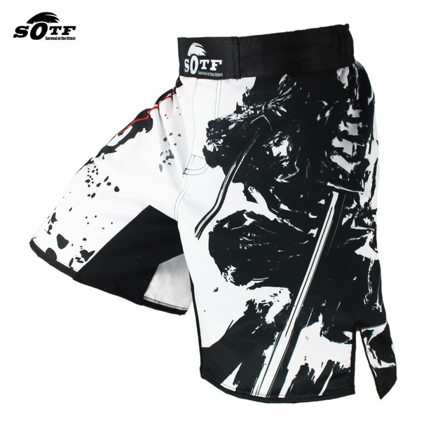 SOTF mma shorts boxing shorts boxing trunks mma pants boxe thai short mma fight shorts pretorian muay thai boxing boksen
