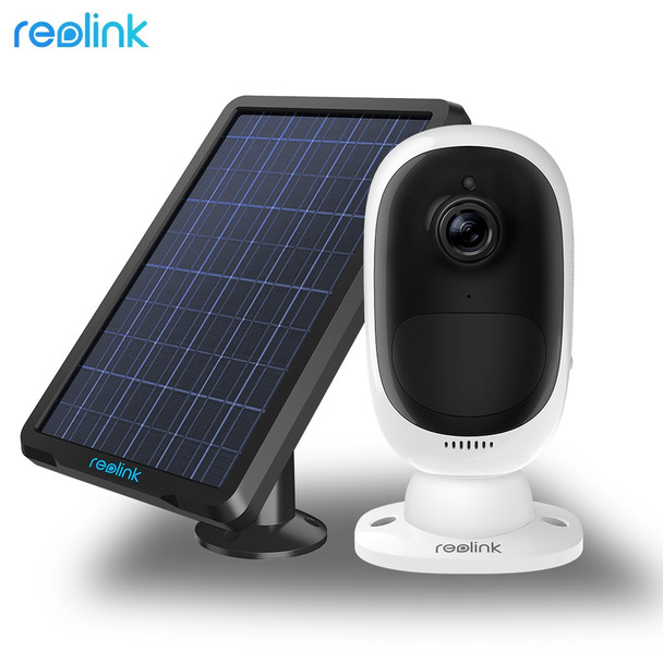 Reolink Argus 2 With Solar Panel Full HD 1080P Outdoor Security IP Camera Rechargeable Battery Starlight Sensor WiFi Camera
