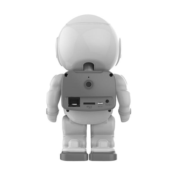 Robot IP Camera WIFI Spaceman Astronaut CMOS Wireless CCTV Security Video Cam P2P PTZ IR Night Vision Audio Video Baby Monitor