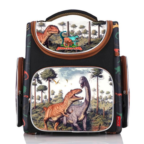 2018 New Bag For School Children School Backpack Boys Orthopedic 3D Animal Dinosaur Kids School Bags Boy Cartoon Knapsack