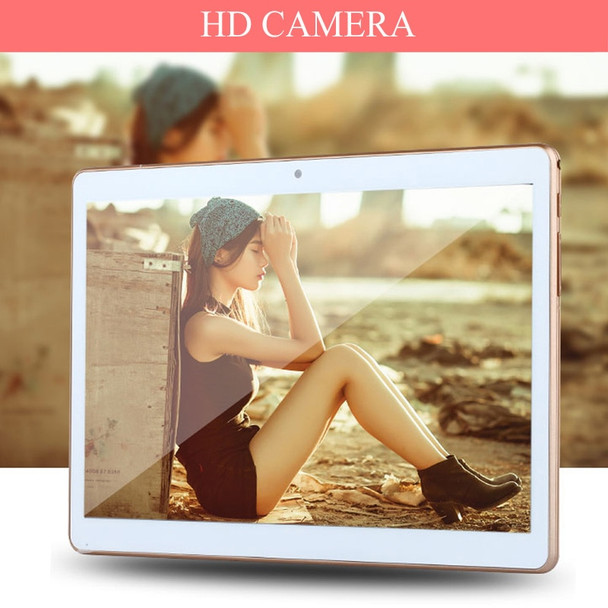 10.1 inch Android 7.0 Tablet PC Quad Core 32GB ROM Dual SIM Card 5.0MP Tablets 3G Phone Call Mobile laptop 10