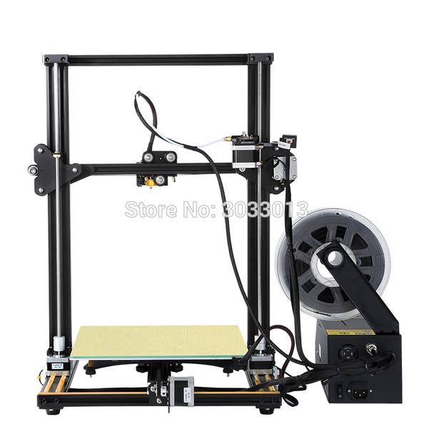 2018 3D Printer CR-10s 4S 5S/CR-10 DIY KIT Printer 3D prusa i3 Large Print size printer 3D 200g filament+8G+Hotbed CREALITY 3D