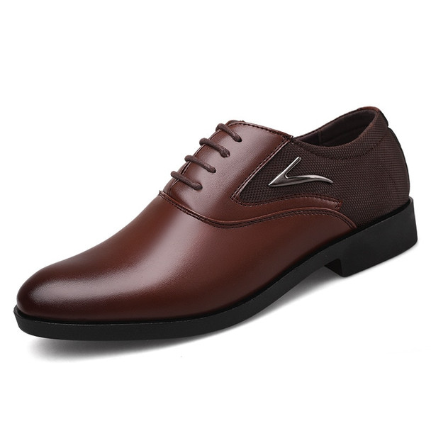 New Spring Fashion Oxford Business Men Shoes Genuine Leather High Quality Soft Casual Breathable Men's Flats Leisure Shoes