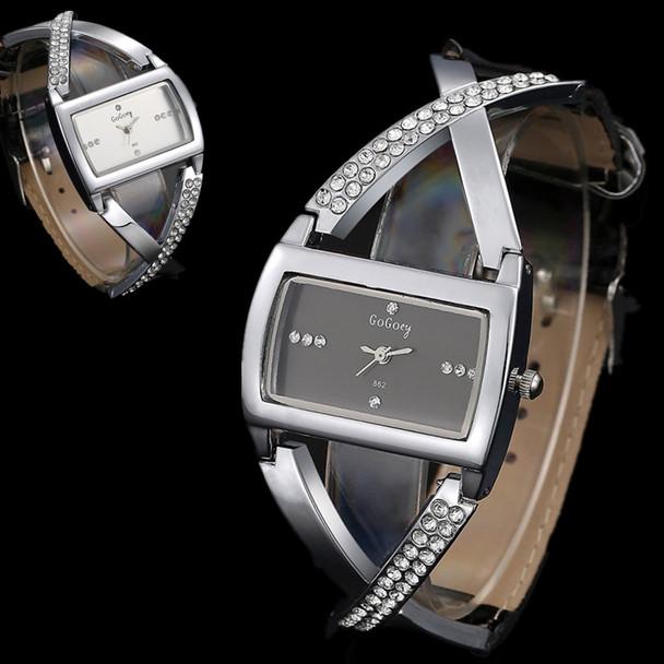 Gogoey Women's Watches Women Watches Luxury Rhinestone Watch Fashion Bracelet Ladies Watch Women Clock saat relogio reloj mujer