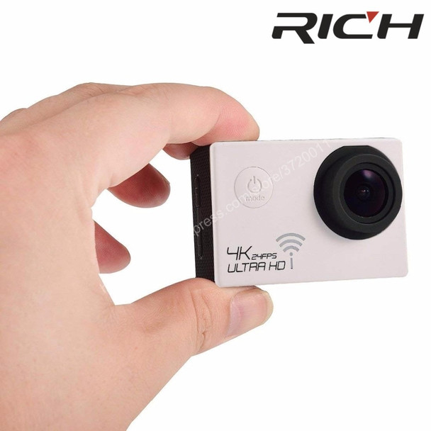 Original Sport Camera gopro hero4 style NT96660 4K 3840*2160P 24FPS Wifi 16MP remote control 170D Lens Waterproof Sports Camera