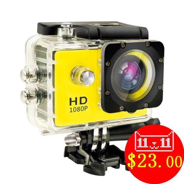 1080P HD Outdoor Mini Sport Action Camera Waterproof Cam DV gopro style go pro with Screen Full Color Water resistant