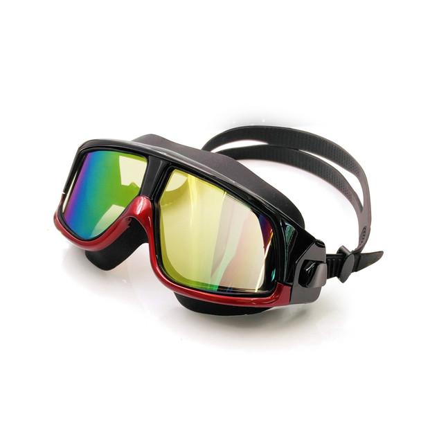 Rx Prescription Swimming Glasses Myopia Optical Swim Goggles Corrective Snorkel Mask 0 to -800 Free Ear Plugs & Storage Case