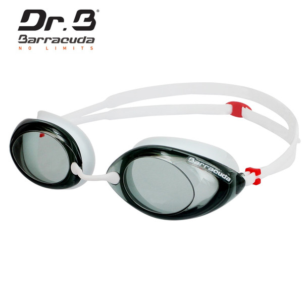 Barracuda Dr.B Optical Swimming Goggles Corrective Anti-fog UV Protection No leaking Easy adjusting for Adults White #32295