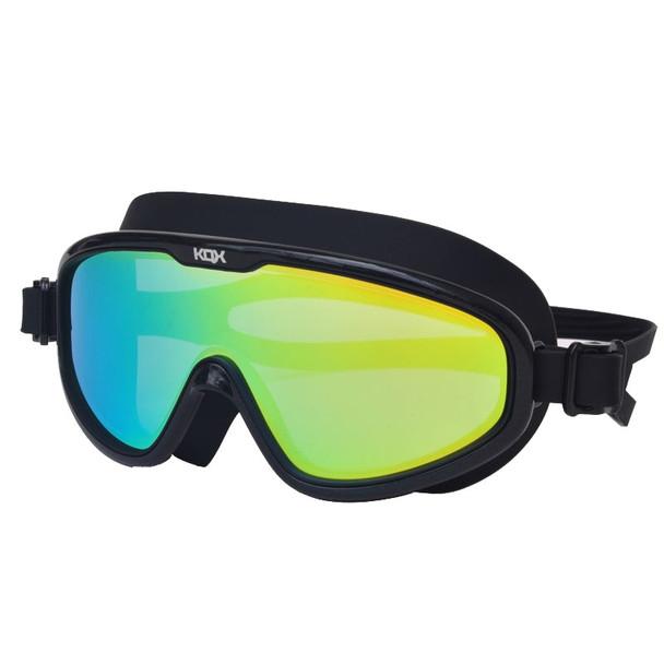 Professional big frame Anti-Fog UV Swimming glasses silicone Waterproof Swim goggles in Poor for men women swim masks Eyewear
