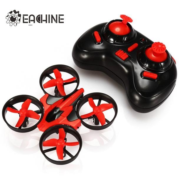 Hot Sale Eachine E010 Mini 2.4G 4CH 6 Axis 3D Headless Mode Memory Function RC Quadcopter RTF RC Tiny Gift Present Kid Toys