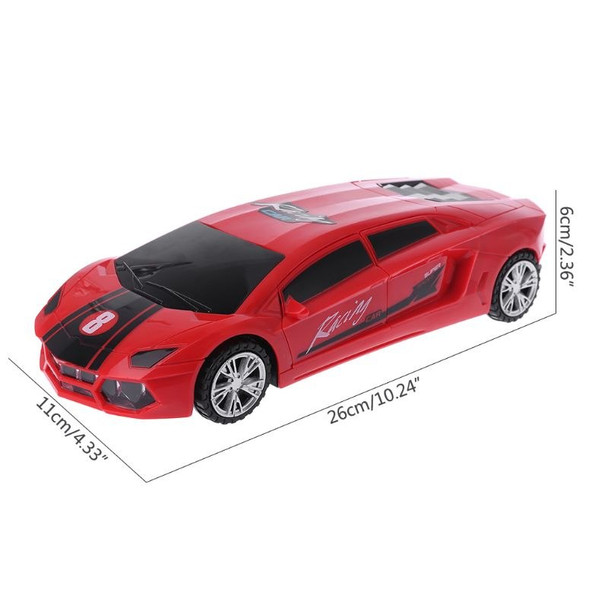 Electric Music Sound Cars For Children Kids Gift 3D LED Flashing Light Car Toy