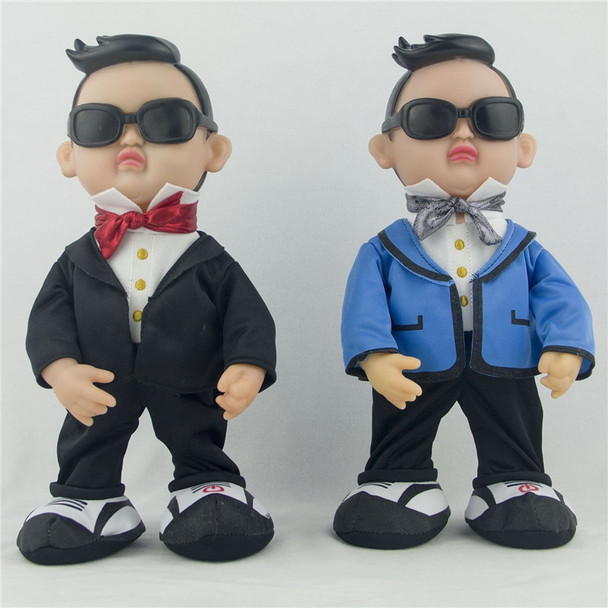 Electric plush toys for children Plush doll simulation Gangnam Style PSY creative funny toy Dancing singing dolls birthday giftS