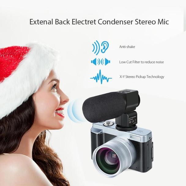 2019 New P12 Flip Screen Wireless WIFI Dual Wide Angle Lens Full HD 1080P 24MP 16X Zoom Digital Camera Video Recorder