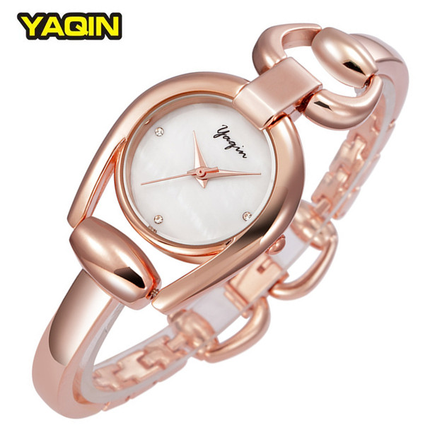 2017 New Fashion Brand Elegant Casual Ladies Bracelet Watches Specially Designed Dial Rose Gold Women Watch Relogio Feminino