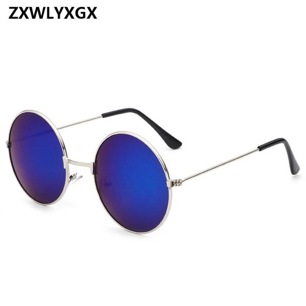 2018 Vintage Women Round Sunglasses Men's Brand Designer Sun Glasses Ladies Spectacles Oculos de Sol Feminoculo2018 Vintage Women Round Sunglasses Men's Brand Designer Sun Glasses Ladies Spectacles Oculos de Sol Feminoculo