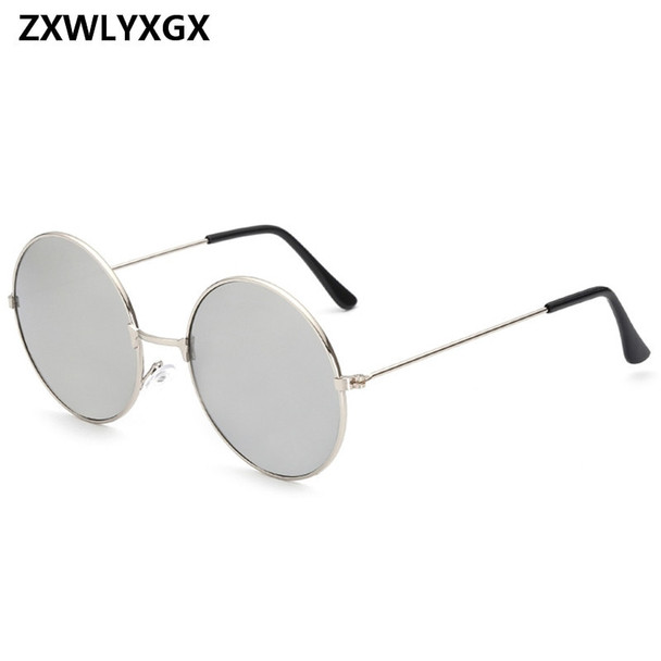 2018 Vintage Women Round Sunglasses Men's Brand Designer Sun Glasses Ladies Spectacles Oculos de Sol Feminoculo