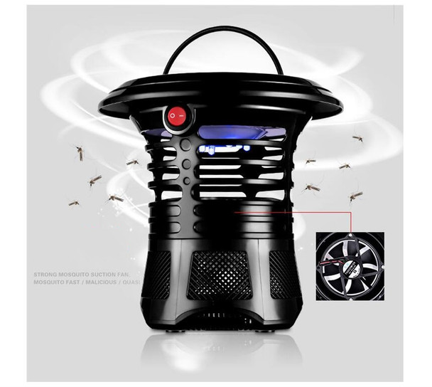 USB Electronic Mosquito Killer Lamp Mosquito Trap Bug Insect Killer Zapper Fly Repeller For Indoor room Kitchen UV Night Light