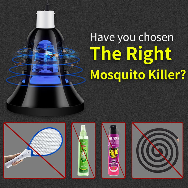 Led Mosquito Killer Lamp Mata Moscas Housefly USB Electronic Anti Muggen Insect Fly Killing Bulb Home Night Light 110V 220V Trap