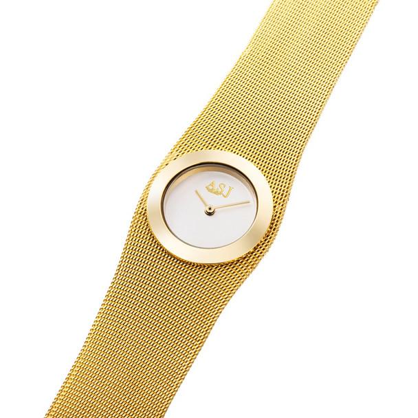 2017 Fashion 18k Gold Mesh Steel Luxury Bracelet Women Clock Casual Top Brand Design Dress Ladies Simple Watch Relogio Feminino