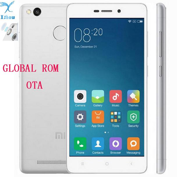 """Xiaomi Redmi 3s 4100mAh Snapdragon 430 Octa Core 2G RAM FDD LTE 4G Fingerprint ID 5.0 """" 1080P MIUI 8 Mobile Phones"""