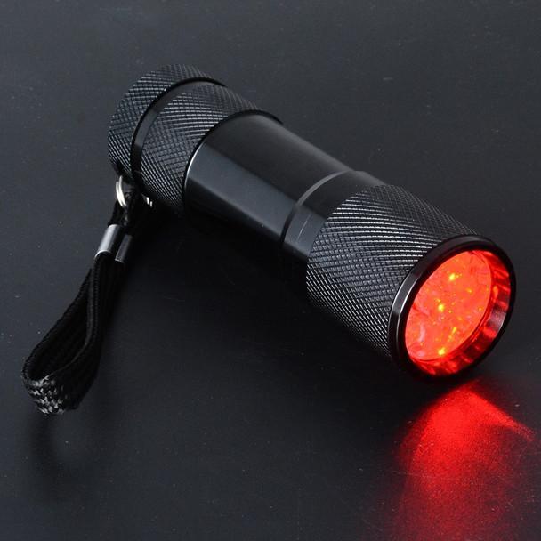 Black Vein Finder Vein Transilluminator Vein Viewer 95*29mm Professional Red Light Pediatric Unit Clinicians Nurses Vein Finder