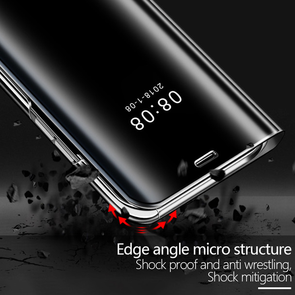 Mate 9 Mirror Clear View flip Cover For Huawei Mate9 Flip stand Case For Huawei MATE 9 PRO Hard PC Cover