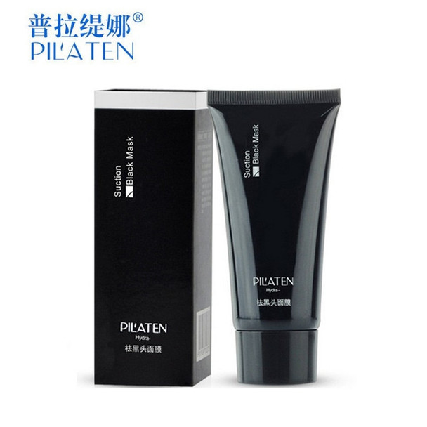 1pc PILATEN Face Care Black Mask facial mask Blackhead Remover Peeling Acne skin Treatments mascara remove dots