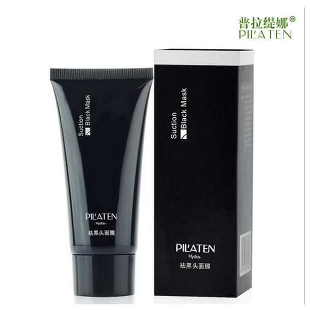 1pc PILATEN Black Facial Mask 60g Black Head Blackhead Remover Acne Treatment Deep Cleansing Purifying Shrink Pores Face Care