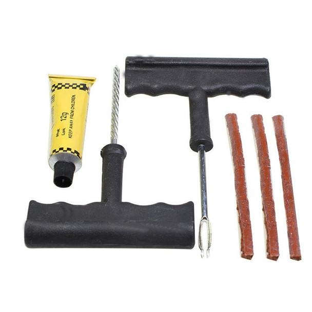 Car Tire Repair Kit Car Bike Auto Tubeless Tire Tyre Puncture Plug Repair Tool Kit Tool
