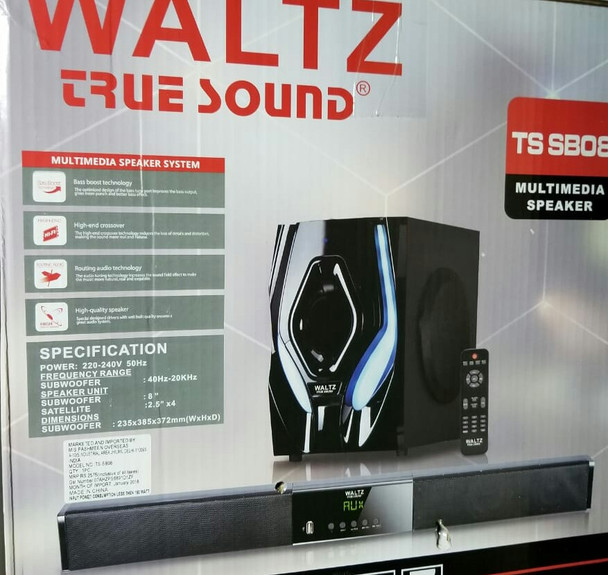 WALTZ True sound Multimedia Home Theater System (SB 08)