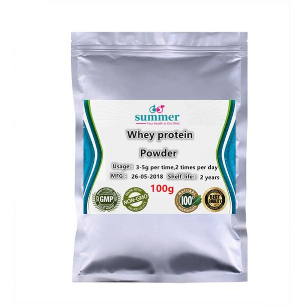 100-1000g Pure Whey protein powder,lactalbumin,lactoalbumin,King of protein powder for enhance the body's antioxidant capacity