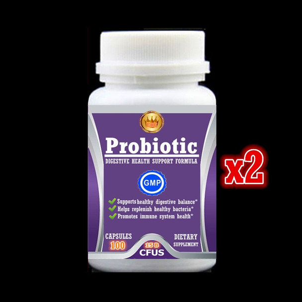 15 billion Probiotic Supplement,Support healthy digestive balance,Help replenish healthy bacteria,Enhance immunity 100pcs/bottle