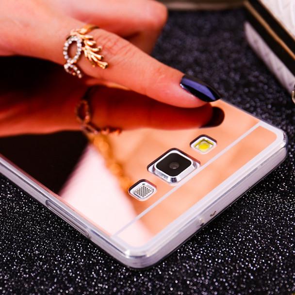 Mirror Soft TPU Phone Case For Samsung galaxy S8 S9 A8 Plus 2018 J1 ACE A3 5 7 J3 J5 J7 J730 2017 2015 2016 Back Cover Bags