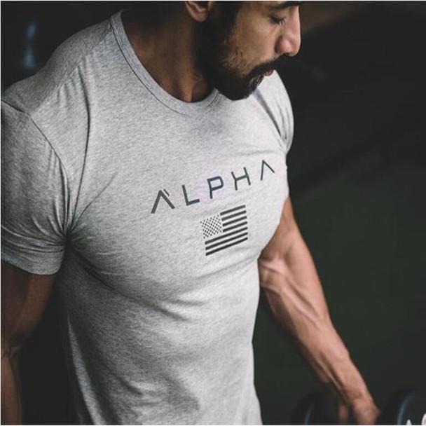 2018 Mens Military Army T Shirt 2017 Men Star Loose Cotton T-shirt O-neck Alpha America Size Short Sleeve Tshirts