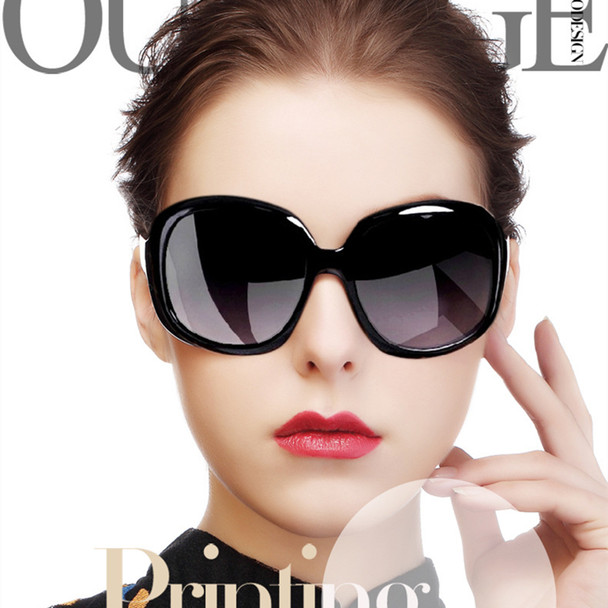 Retro Classic Sunglasses Women Oval Shape