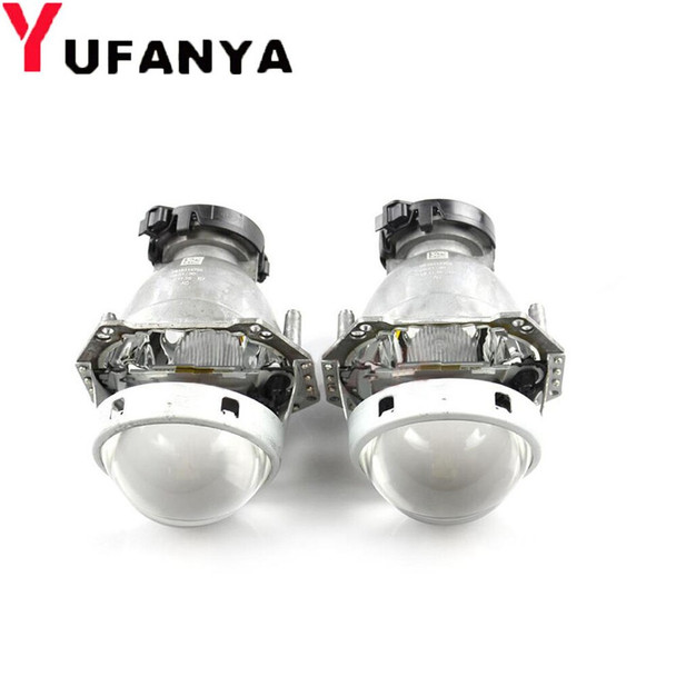 Car styling HELLA 5 3.0 inches hid bi-xenon projector lens with shrouds Car projector headlight D1S D2S D3S D4S LHD type