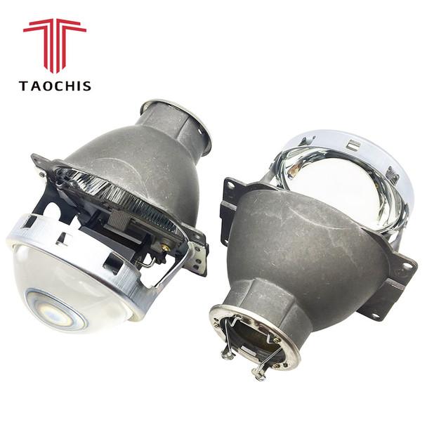 TAOCHIS Car Styling Auto Head Light Restyle 3.0 inch Bi-xenon Projector Lens Koito Q5 H7 Retrofit Universal Car Light