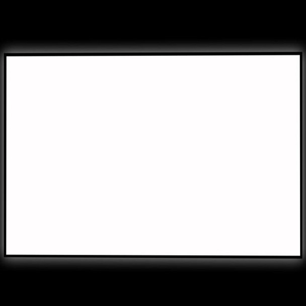 "92"" Thin Bezel 16:9 4K Ultra HD Ready HDTV Home Cinema Fixed Frame Projector Movie Screen with slim aluminium frame"