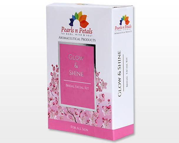 3Pcs Pearls n Petals Glow & Shine Bridal Facial Kit