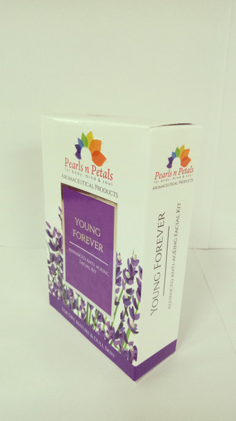 3Pcs Pearls n Petals Young Forever Facial Kit Advanced Anti-Ageing