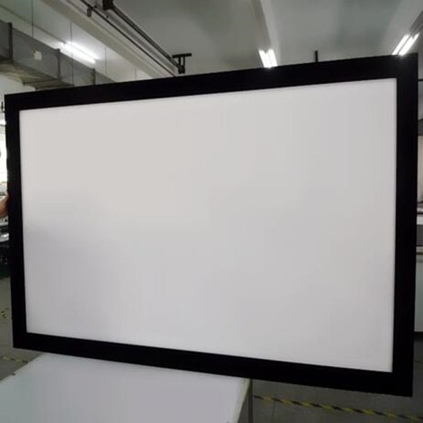 109-inch Diag. 4:3 4K Ultra HD Ready HDTV Fixed Frame Home Theater projection projector Screen with cinema white