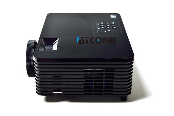 Best Short throw lens Daylight USB HDMI Home Theater XGA 1080p full HD 3D DLP Projector Proyector beamer for church hall hotel