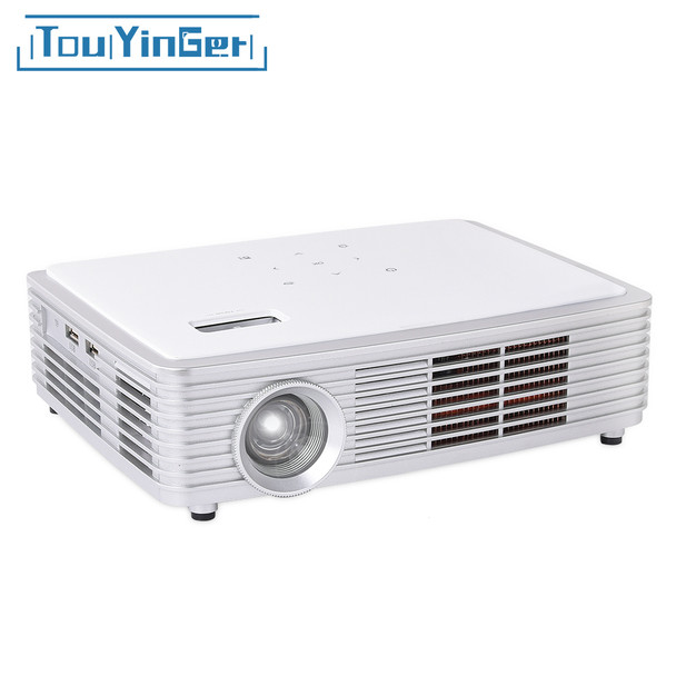 700 ANSI lumens Touyinger Z4000 DLP Projector 1280*800 Support full HD 1080p 4K video mini LED DLP Active Shutter 3D Android 5.1