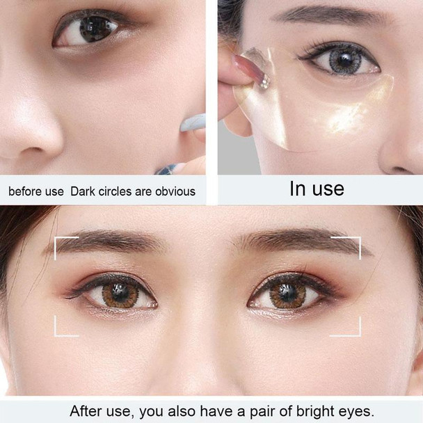 1PC Anti Aging Gold/Seaweed Collagen Eye Mask for The Eye Care 60pcs Moisturizing Anti-Wrinkle Eye Patches Dark Circles Remove