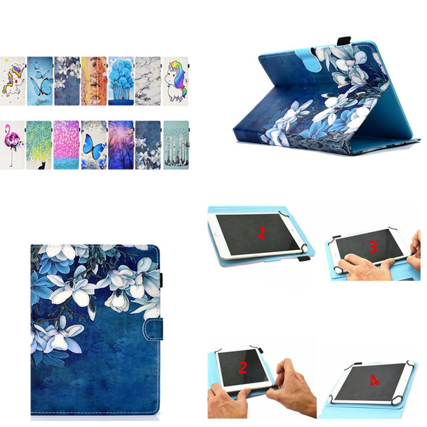 Fashion Universal Cover Tablet for CHUWI Hi9 Air 10.1 Flip PU Leather Print 10 Inch Cartoon Protective Case Hi9 Air 10'' Tablet