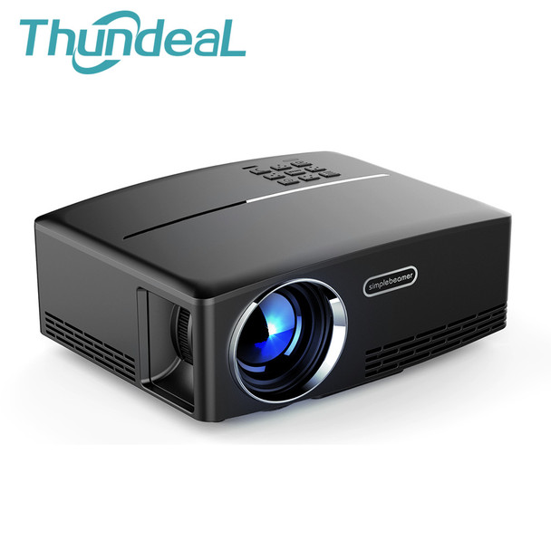 ThundeaL GP80 GP80UP GP70 GP70UP Android 6.0 Mini Projector LED LCD Projector VGA HDMI Optional Bluetooth Wireless WIFI Beamer