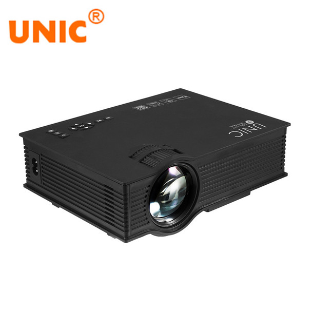 UNIC UC46 UC46+ Projector Wireless WIFI 1200Lumens 800x480 LED Video Home Cinema Support Miracast DLNA Airplay Portable Beamer