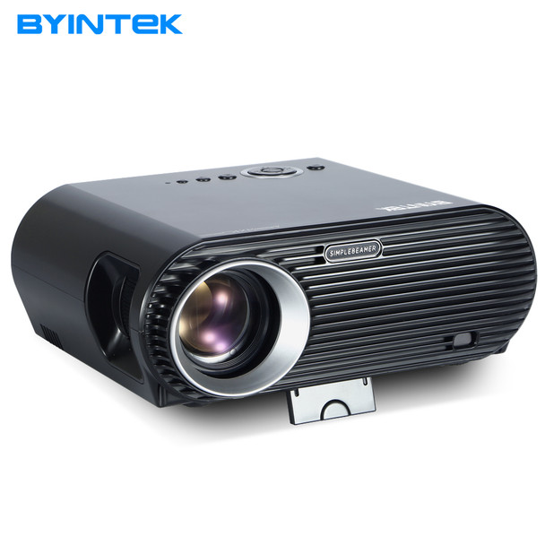 BYINTEK BL127 2017 New Design 720P 1080P Movie Cinema USB HDMI fulL hD VGA Home Theater Projector Kids video projectors