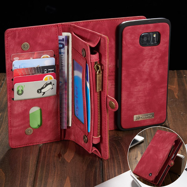 Phone Case For Fundas Samsung Galaxy S7 Edge S8 S9 S10 Plus S10E note 8 9 case Multi-functional Wallet Leather Magnet back cover