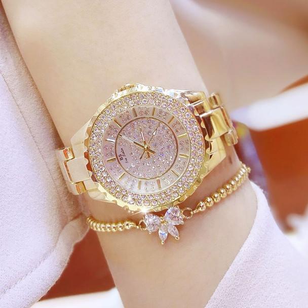 Women Watches 2019 Luxury Brand Diamond Quartz Ladies Rose Gold Watch Stainless Steel Clock Dress Watch women relogio feminino